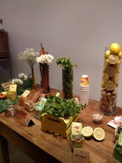 Mesa sensorial dos chás! Foto: Cozinha para Mortais