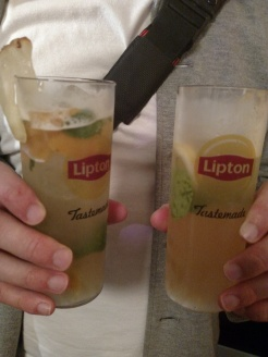 Drinks gelados feitos com chás Lipton <3 Foto: Cozinha para Mortais